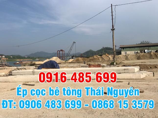 Ép cọc bê tông Thái Nguyên - Ép Cọc bê tông nhà dân (công trình) Thái Nguyên
