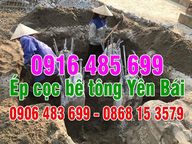 Ép cọc bê tông Yên Bái - Ép cọc bê tông công trình (nhà dân) Yên Bái