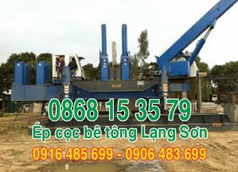 0868.15.3579 ÉP CỌC BÊ TÔNG LẠNG SƠN - ép cọc bê tông tại Lạng Sơn