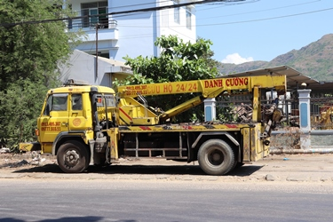 Cứu hộ giao thông Quy Nhơn Bình Định - Xe cứu hộ giao thông tại Qui Nhơn Bình Định