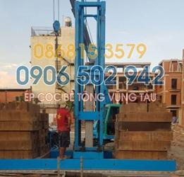 Ép cọc bê tông Vũng Tàu - Báo giá ép cọc bê tông tại Vũng Tàu