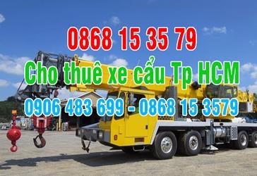 0868.15.3579 cho thuê xe cẩu Tp Hồ Chí Minh - Xe cẩu tp hcm - cho thuê xe cẩu tp hcm