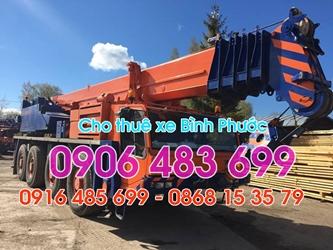 xe cẩu bình phước gọi 0916485699 - chuyên cho thuê xe cẩu tại bình phước