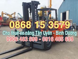 Xe Nâng Tân Uyên (Bình Dương) - Cho thuê xe nâng Tân Uyên - Cho thuê xe nâng Tân Uyên Bình Dương