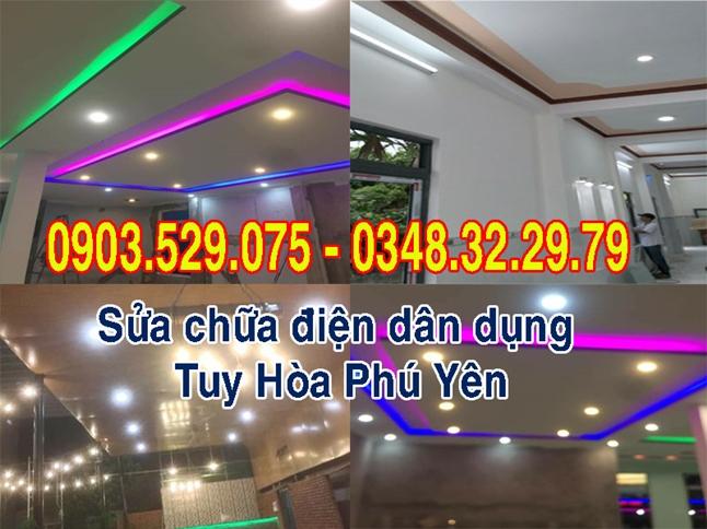 Sửa chữa điện nước dân dụng Tuy Hòa Phú Yên.
