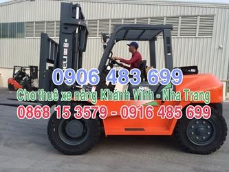 0906.483.699 cho thuê xe nâng tại Khánh Vĩnh (Nha Trang) - Khánh Hòa