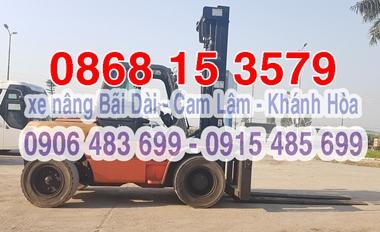 0916.485.699 Cho thuê xe nâng Bãi Dài - Cam Lâm - Khánh Hòa