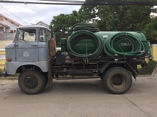 xe hút hầm vệ sinh tại phú yên